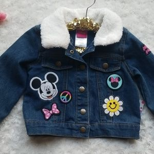 Minnie Mouse jean jacket 💕